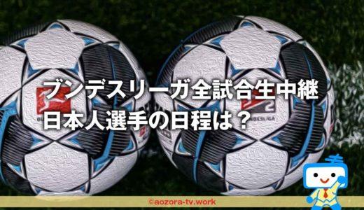 スカパーはブンデスリーガ全試合生中継って本当?日本人選手の日程は?料金や詳細も知りたい!